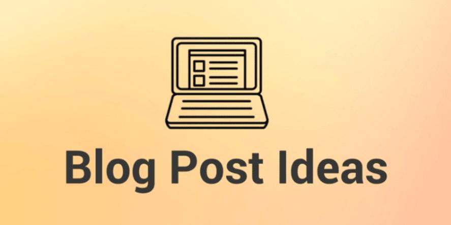 Sports Psychologist Blog Post Ideas