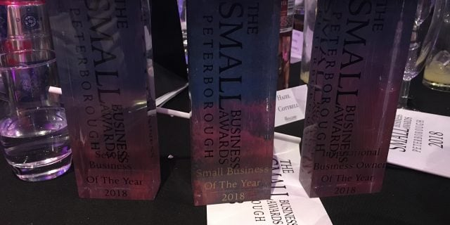 We Are THE Peterborough Small Business Of The Year 2018