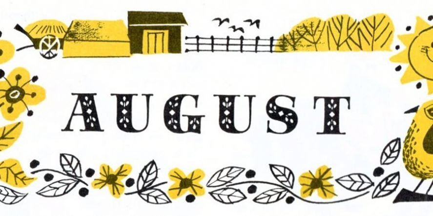 What To Post On Social Media In August