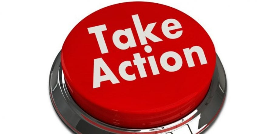 How To Use A 'Take Action' Social Media Call To Action