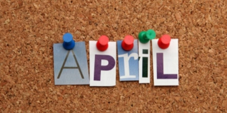 What To Post On Social Media In April