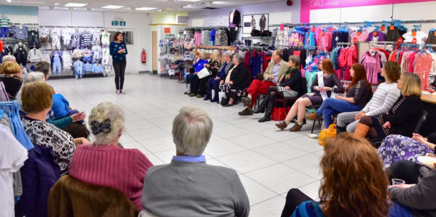 St Ives Fashion Show Raised £400