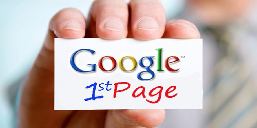 Your Website Is Not On Google First Page
