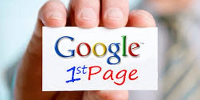 We Can Get You On Page One Of Google