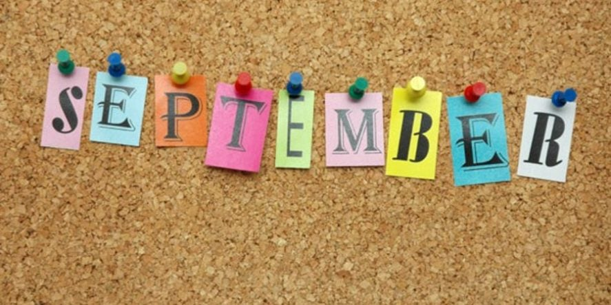 Things To Post On Social Media In September – Part Two