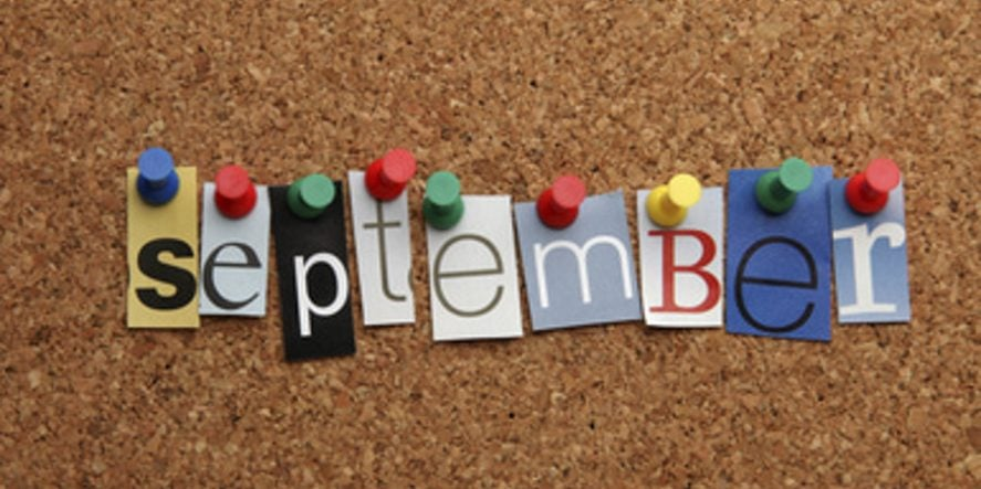 What To Post On Your Social Media In September – Part One