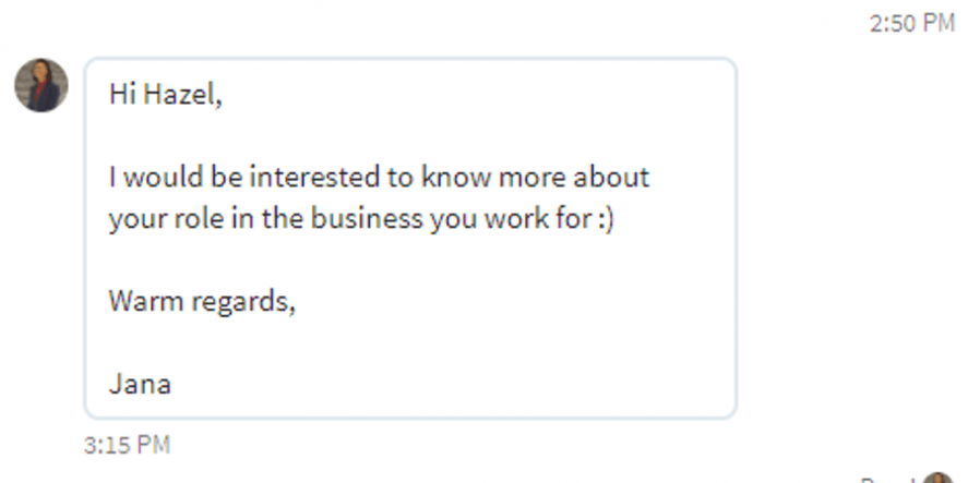 Another Example Of Linkedin For Business Done Wrong