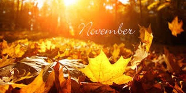 Things To Post On Social Media In November – Early November