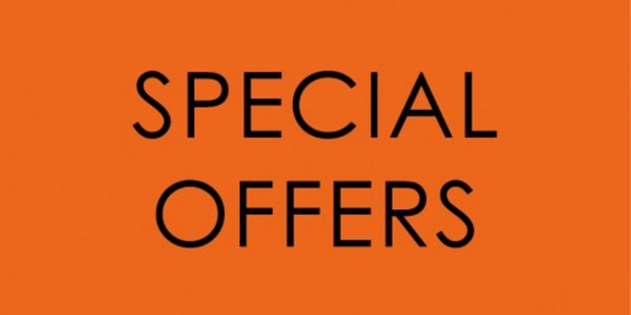Special Offers For 2019