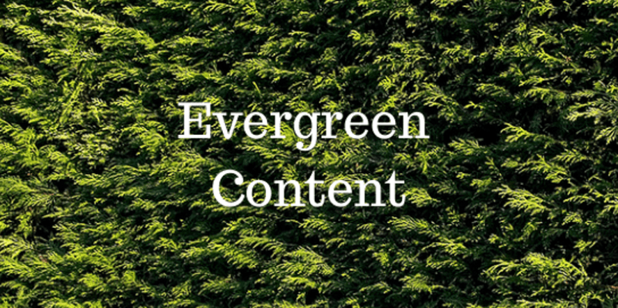 How To Share Evergreen Content