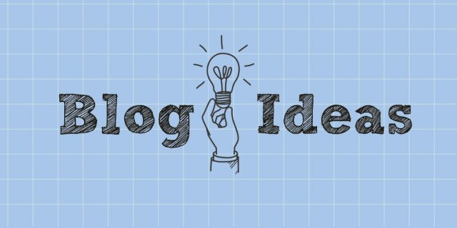 Where Can You Find Blog Content Ideas?
