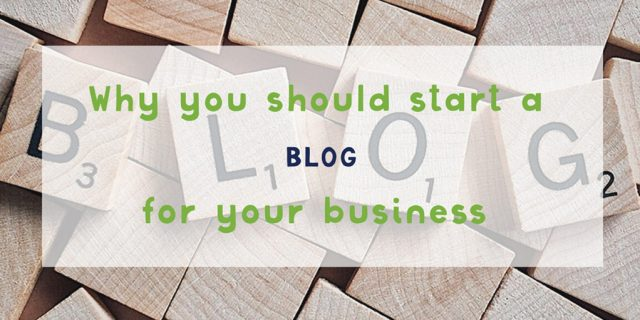 Why Should Your Business Blog?