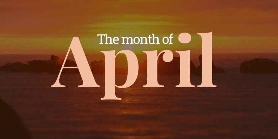 National Months To Blog About In April