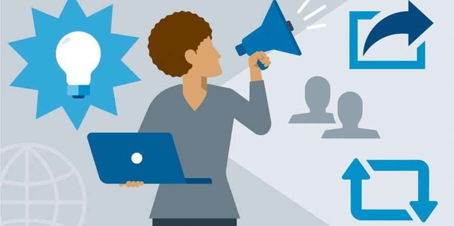 How To Share A Blog On LinkedIn