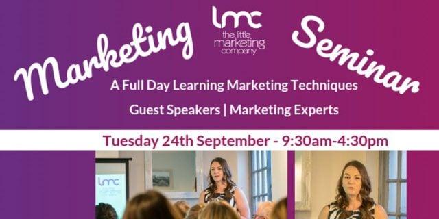 Guest Speaking At A Marketing Seminar in Peterborough