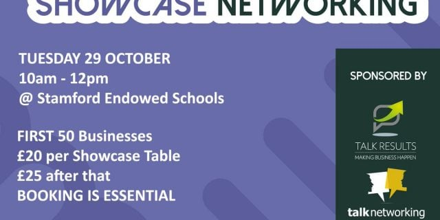 We Will Be At Stamford Showcase Networking