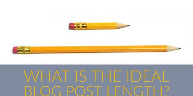What Is An Ideal Blog Post Length?