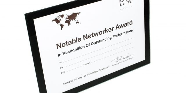 Notable Networker For January