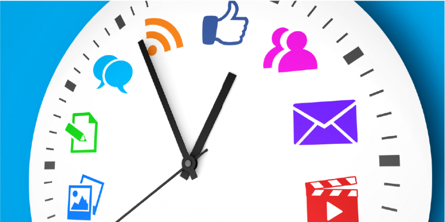 What Part Of Social Media Posting Takes The Longest?