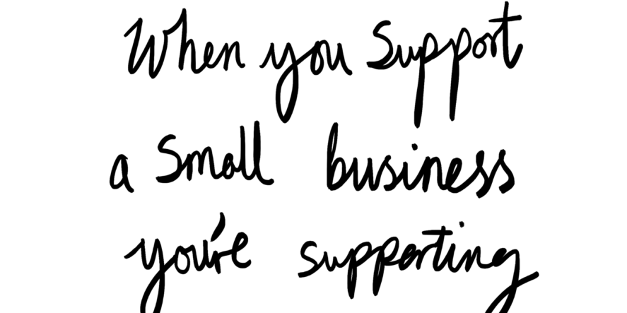 Want To Support A Small Business For Free?